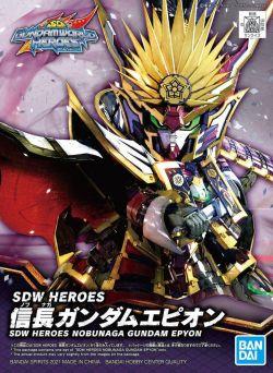 SD Gundam World Heroes 02 Nobunaga Gundam Epyon
