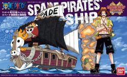 Spade Pirate Ship - One Piece Grand Ship Collection