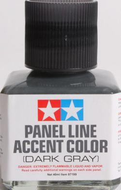 Panel Line Accent Color - Dark Gray