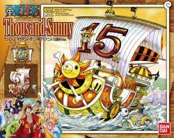 Thousand Sunny TV Animation 15th Anniversary Ver Model Kit