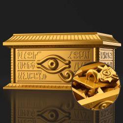 Gold Sarcophagus for Ultimagear Millennium Puzzle