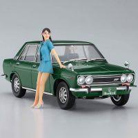 1/24 Datsun Bluebird 1600 SSS with 60's Girl