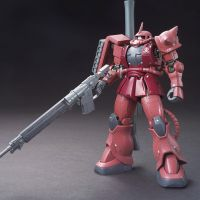 HG MS-06S Zaku II Char Custom (Gundam The Origin Ver.)
