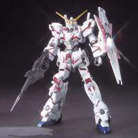 HGUC RX-0 Unicorn Gundam (Destroy Mode) Titanium Finish