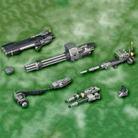 HMM Zoids Custom Beam Gatling Set