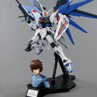 MG Freedom Gundam Ver 2.0 & Kira Yamato