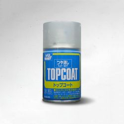 Mr. Top Coat Spray 88ml (Flat)