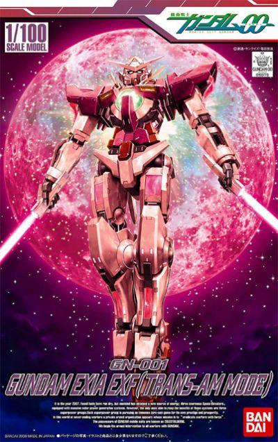 1/100 GN-001 Gundam Exia Trans-Am Mode