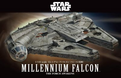 1/144 Millennium Falcon (The Force Awakens Ver.)