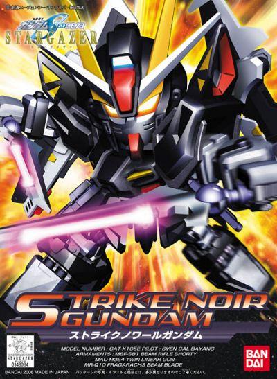 BB Senshi BB293 Strike Noir Gundam