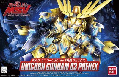 BB Senshi BB394 Unicorn Gundam 03 Phenex