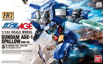 HGAG Gundam AGE-1 Spallow