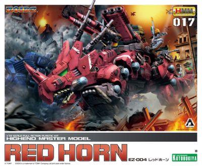 HMM Zoids EZ-004 Red Horn