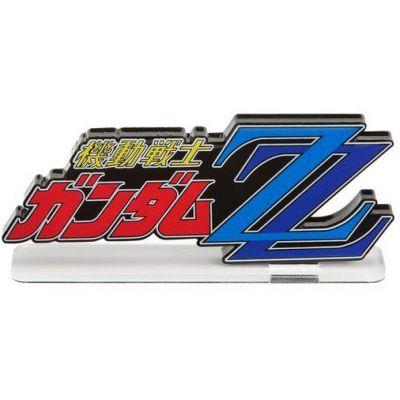Logo Display Mobile Suit Gundam ZZ (Large)
