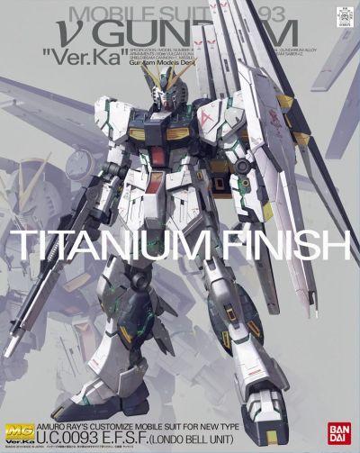 MG RX-93 Nu Gundam Ver.Ka Titanium Finish