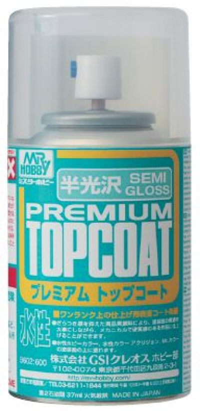 Mr. Premium Top Coat Spray 88ml (Gloss)