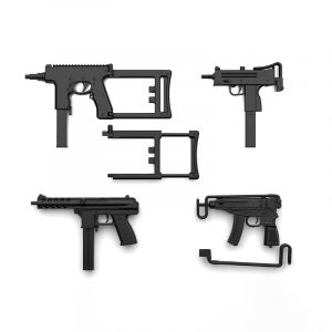 1/12 Little Armory (LA058) Compact SMG Set