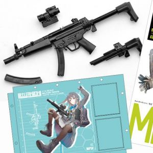 1/12 Little Armory (LS02) MP5F Type (Rin Shirane Mission Pack)