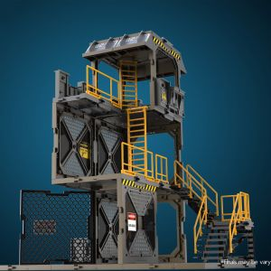 1/24 Diorama Building Set SIB01 Guard Tower
