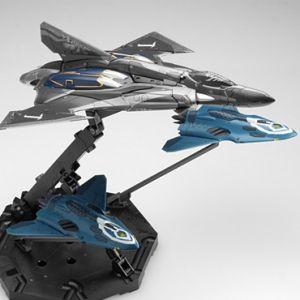 1/72 Sv-262Hs Lill Draken + Missile Pod for Draken III