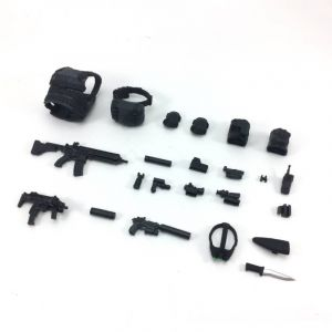 DH-E001B 1/12 Scale Action Figure Equipment Set B (Ghost)