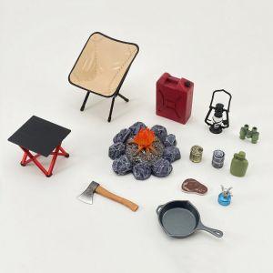 DH-E002 1/12 Scale Camping Equipment Set A