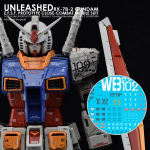 G-REWORK Decal PG Unleashed RX-78-2 Gundam