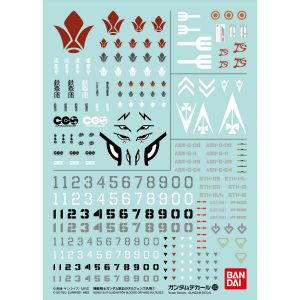 GD-103 Iron-Blooded Orphans Series Decal