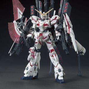 HGUC RX-0 Full Armor Unicorn Gundam (Destroy Mode) Red Color Ver.