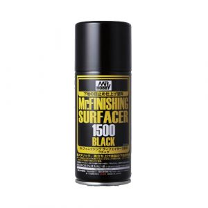 Mr. Finishing Surfacer 1500 Black Spray 170ml