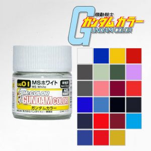 Mr. Gundam Color 10ml Series (Semi-Gloss)