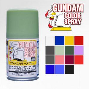 Mr. Gundam Color Spray 100ml Series (Semi-Gloss)
