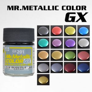 Mr. Metallic Color GX Series (Gloss)