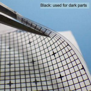 Panel Line Custom Guide Transparent Black