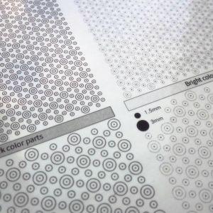 Panel Line Custom Guide Transparent Pin Vice