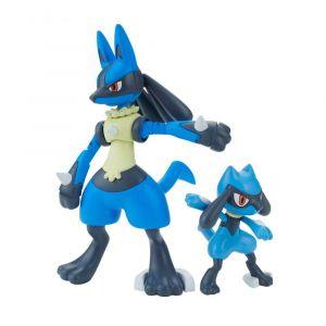 Pokémon Model Kit Riolu & Lucario