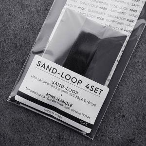 Sanding SAND-LOOP Flat Sand-Loop 4 Set (Flat+Mini Handle Set)
