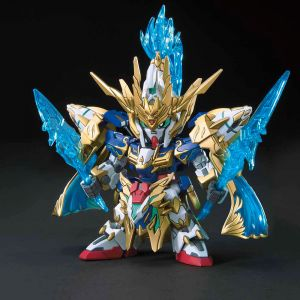 SD Sangoku Soketsuden 07 ZhaoYun 00 Gundam & Blue Dragon Drive