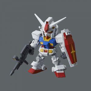 SD Gundam Cross Silhouette RX-78-2 Gundam & Cross Silhouette Frame Set