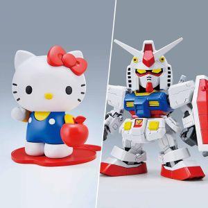 SD Gundam EX-Standard RX-78-2 Gundam / Hello Kitty Set