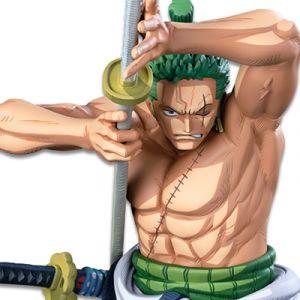 One Piece BANPRESTO WORLD FIGURE COLOSSEUM 3 SUPER MASTER STARS PIECE: Roronoa Zoro [Two Dimensions] (Damaged Box Item)
