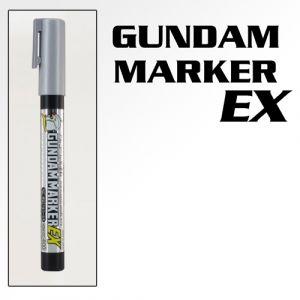 XGM100 Plated Silver Gundam Marker EX