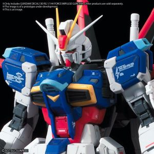 GD-130 RG Force Impulse Gundam Decal