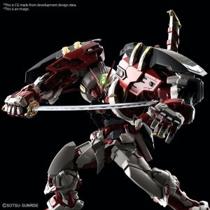 High-Resolution Model Gundam Astray Red Frame Powered Red