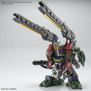 SD Gundam World Heroes 12 Sergeant Verde Buster Gundam DX Set
