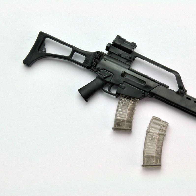 1/12 Little Armory (LA034) G36 Type