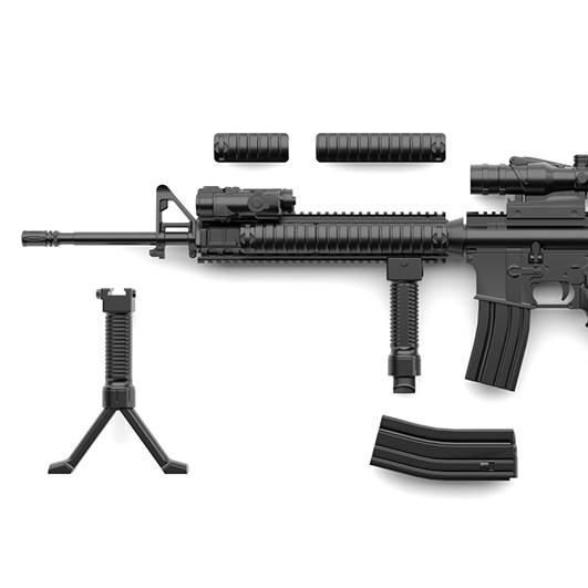 1/12 Little Armory (LA056) M16A4 Type