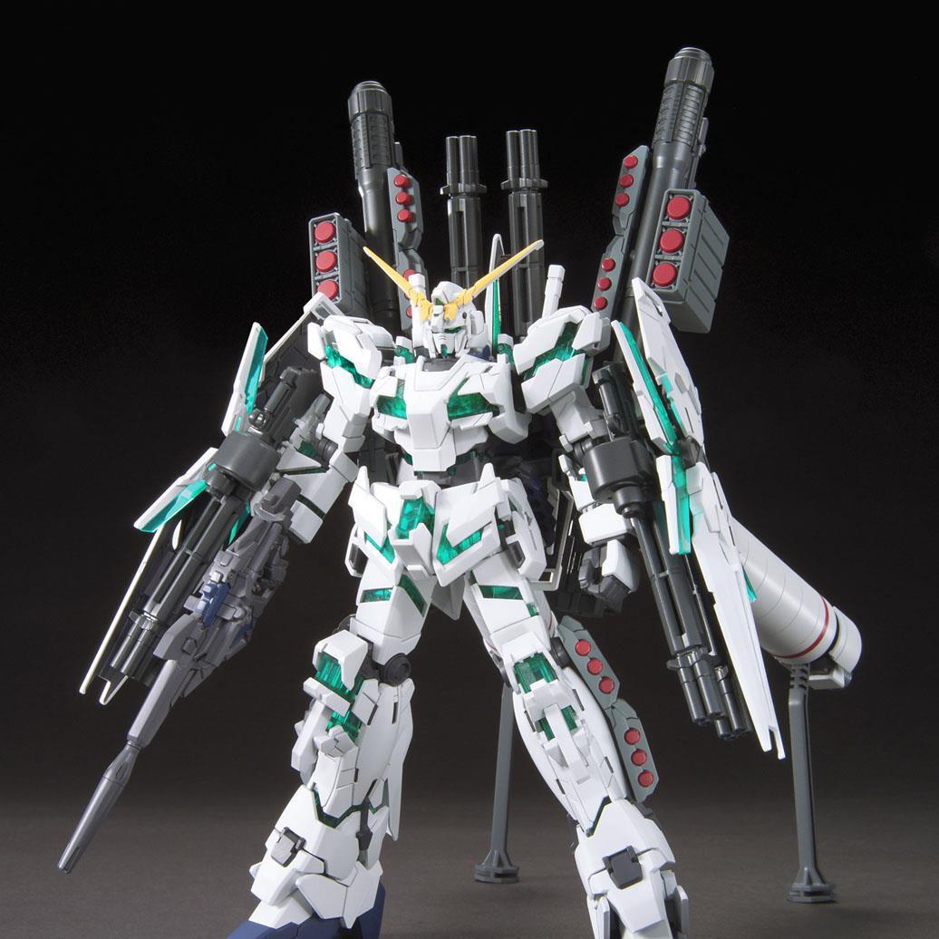 HGUC RX-0 Full Armor Unicorn Gundam (Destroy Mode) Green Color Ver.