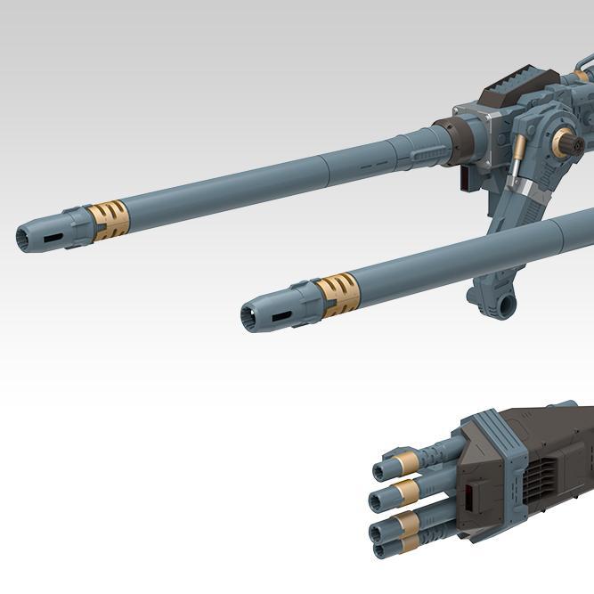HMM Zoids Custom Gojulas Cannon Set