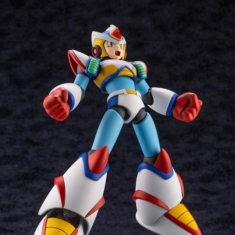 Mega Man X Second Armor Model Kit
